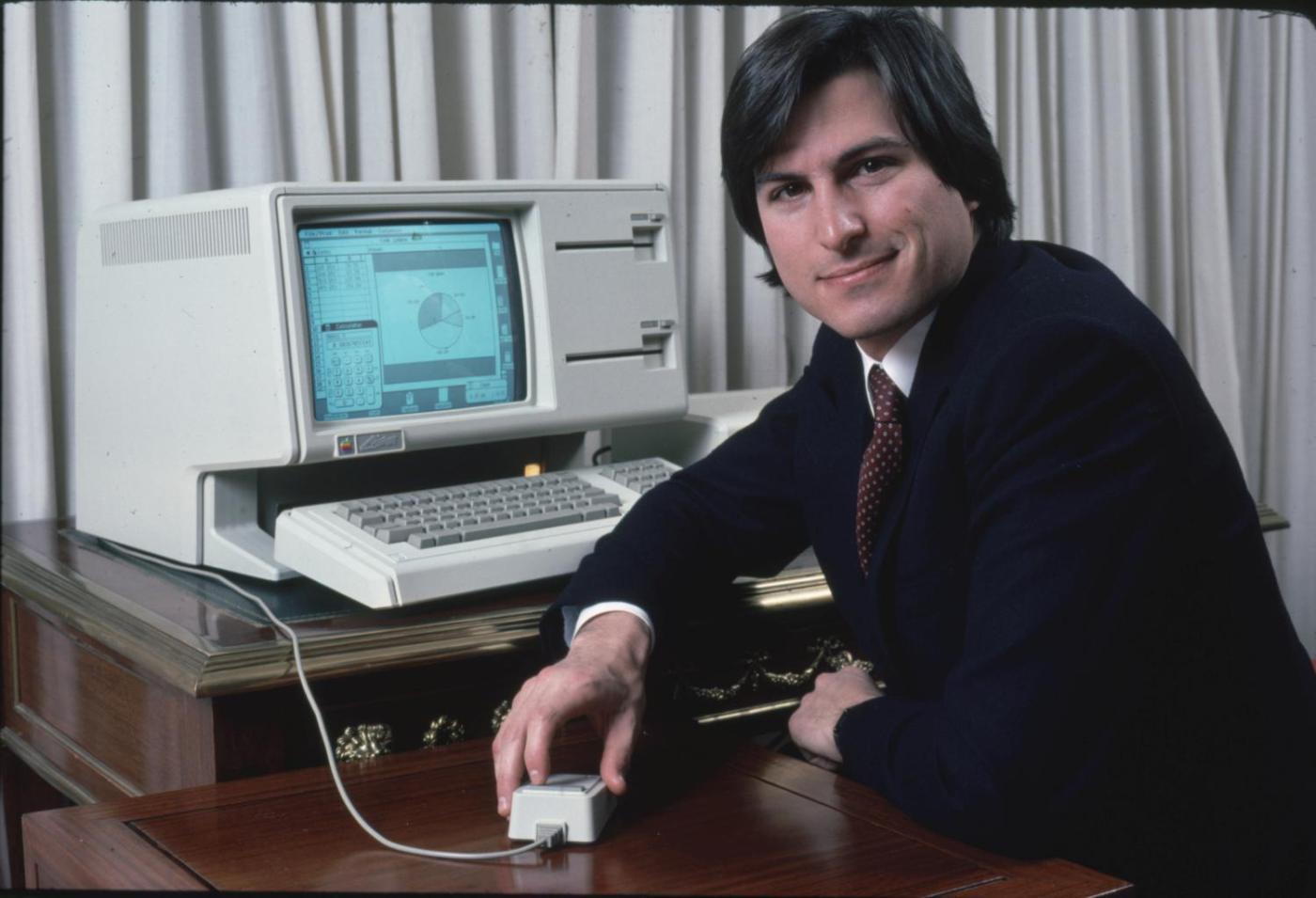 Стив Джобс и Лиза