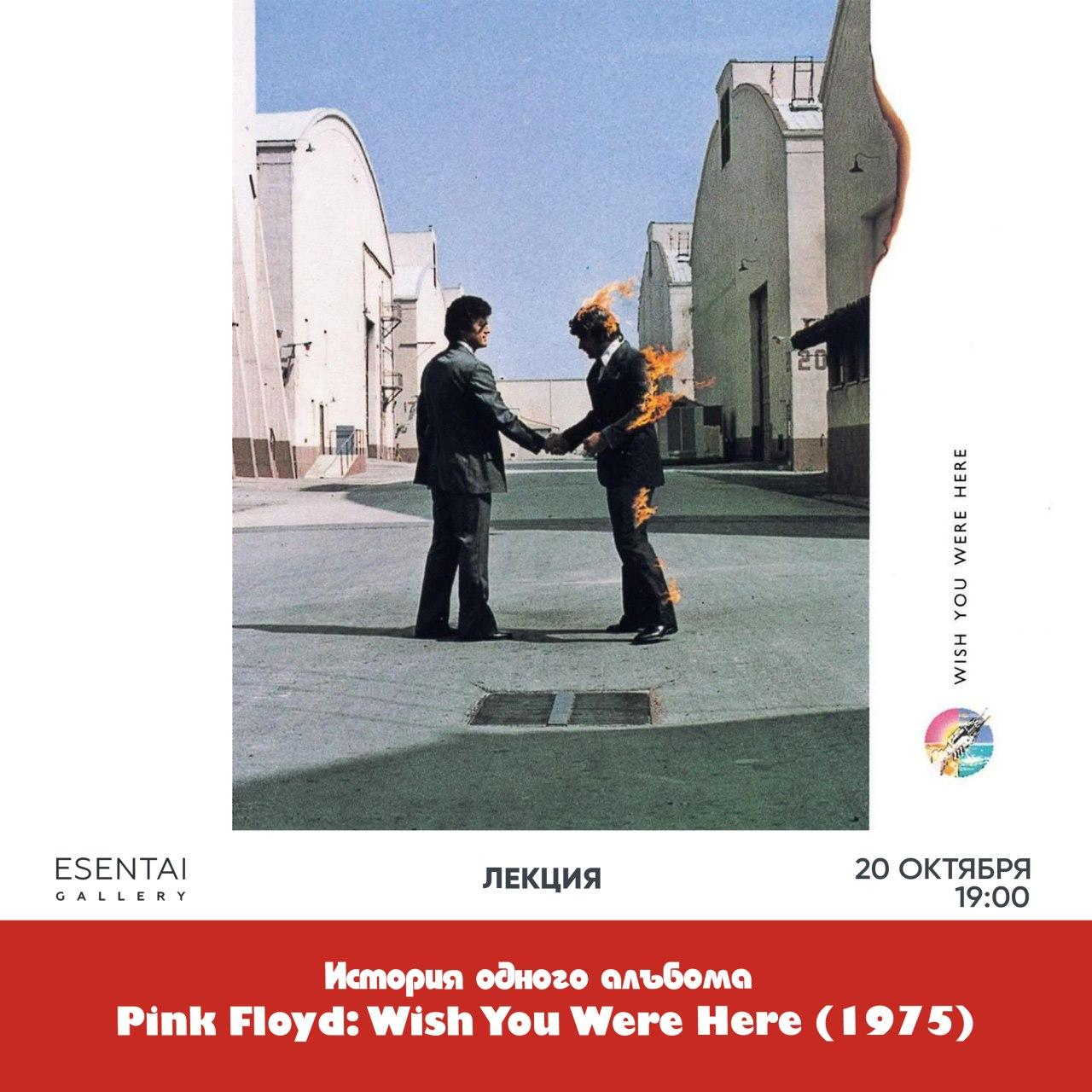 Лекция Pink Floyd Wish You Were Here