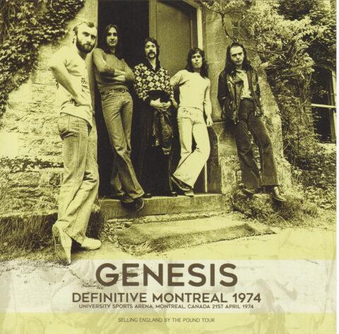 Genesis Montreal 1974