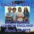 Обзор Eagles Live at BBC Theatre 1973