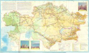 карта казахской сср